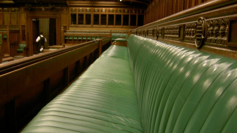 House of Commons bench