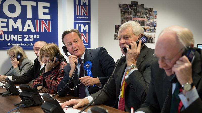 Vote Remain phone bank