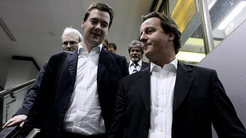 David Cameron and George Osborne in 2006