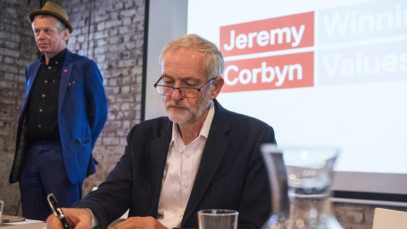 Richard Barbrook and Jeremy Corbyn