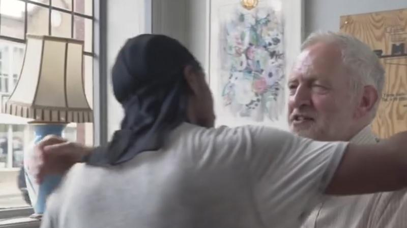 Jeremy Corbyn and JME