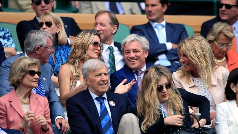 The Bercows at Wimbledon