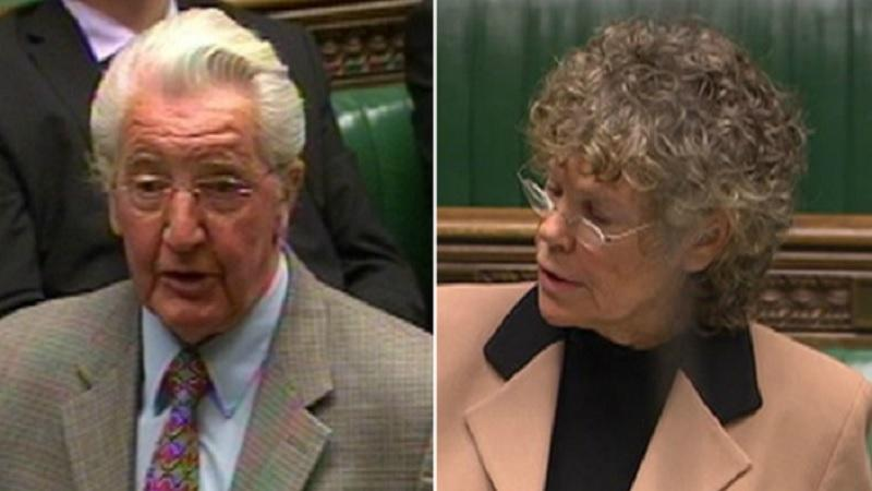 Dennis Skinner and Kate Hoey