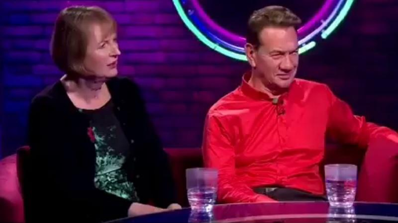 Harriet Harman and Michael Portillo