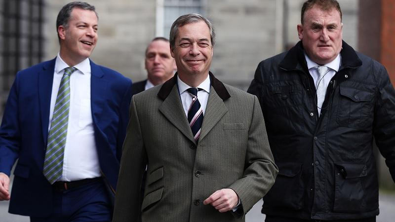 Nigel Farage and pals