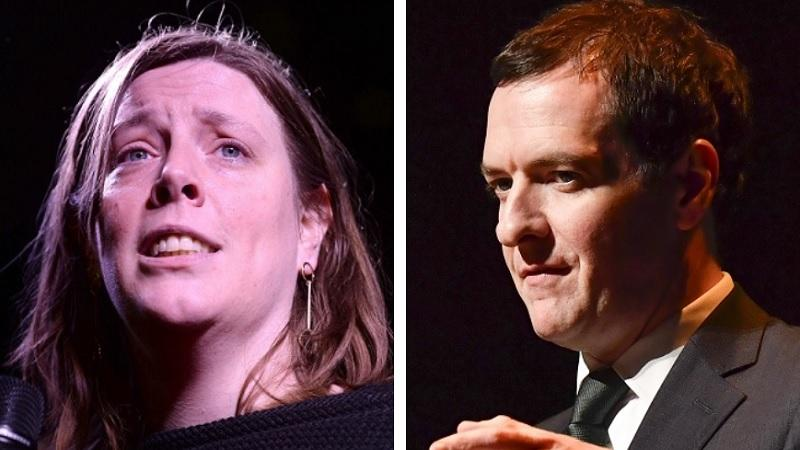 Jess Phillips and George Osborne