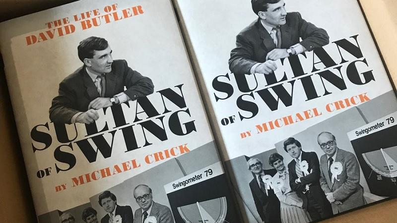 Sultan of Swing – The Life of David Butler,  by Michael Crick