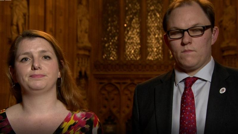 Alison McGovern and Gareth Snell