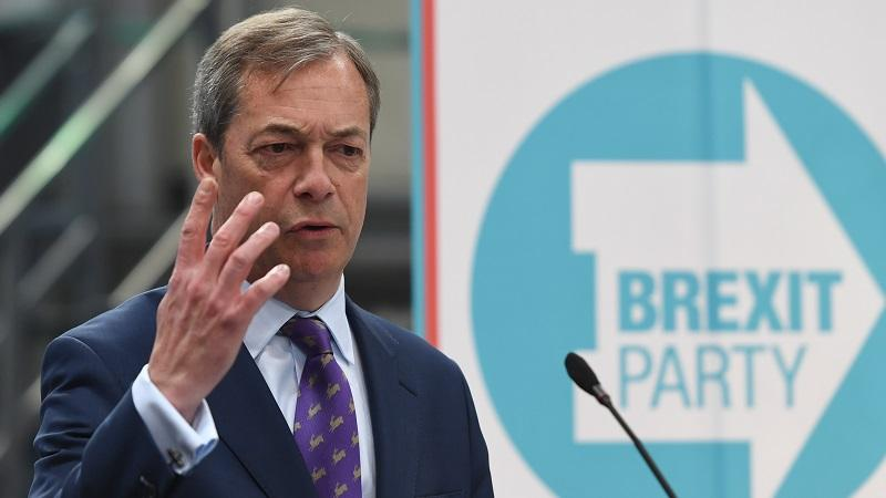 Nigel Farage Brexit Party